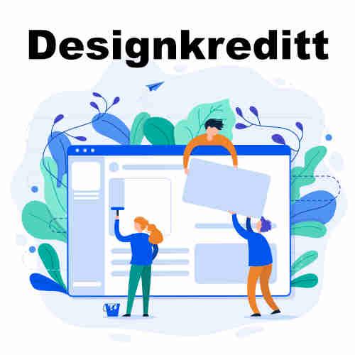 Designkredd til PCKassenettbutikk