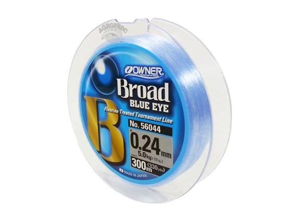 Owner Broad Blue Eye 300m 0,33mm(989)