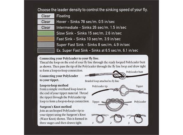 Airflo Salmon 10' Polyleader(2047)