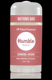 Humble Deodorant Stick Geranium Vetiver 70g.