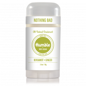 Humble Deodorant Stick Bergamot & Ginger Sensitive 70g.