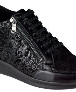 Berkemann Felizia 05154-934 black/floral shiny
