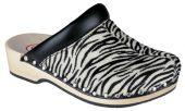 Berkemann Soft Toeffler 00412-119 black-white/zebra