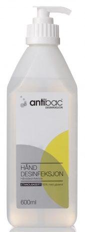 Antibac Hånddesinfeksjon m/pumpe 600ml