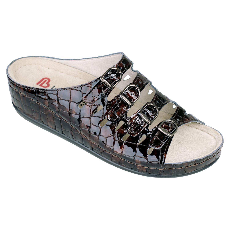 Berkemann Hassel 00737-498 Crocodile Patent Leather