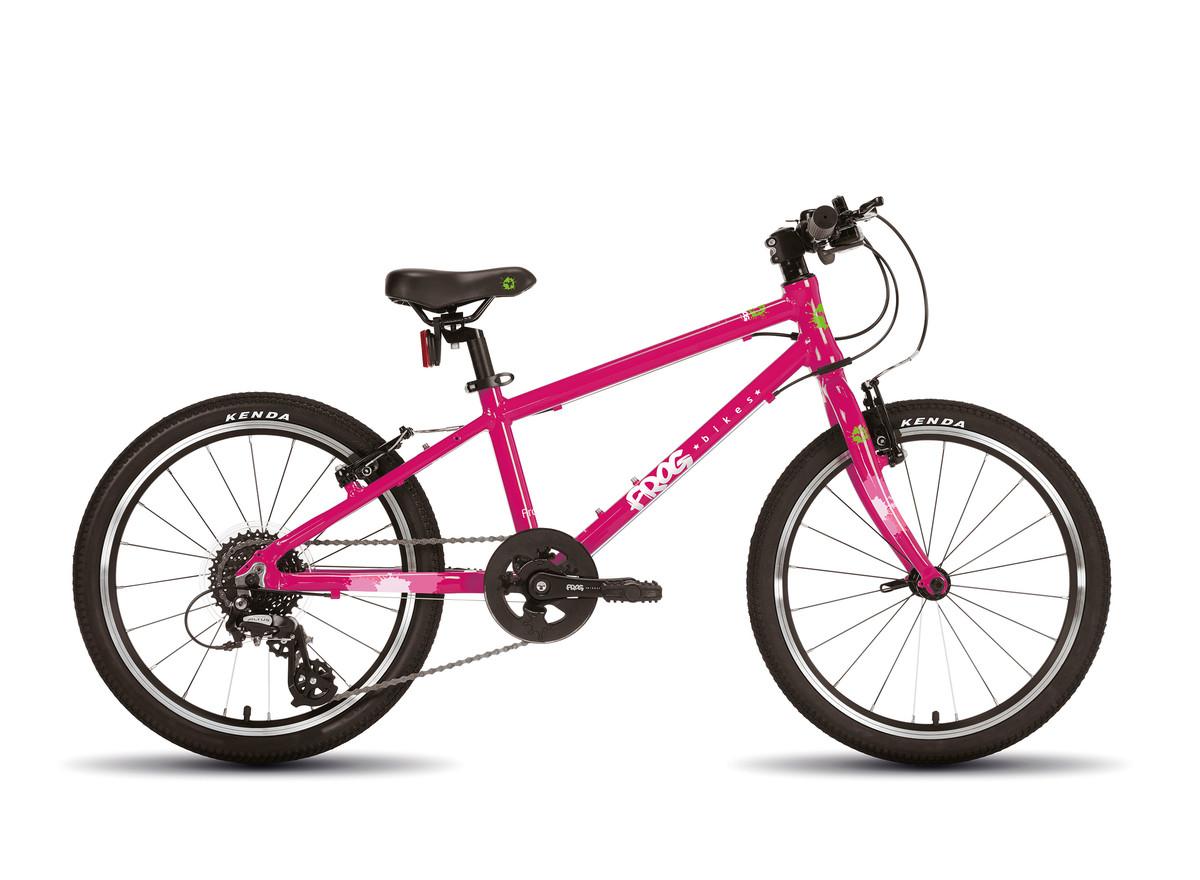 "Frog 55 20"" barnesykkel rosa"