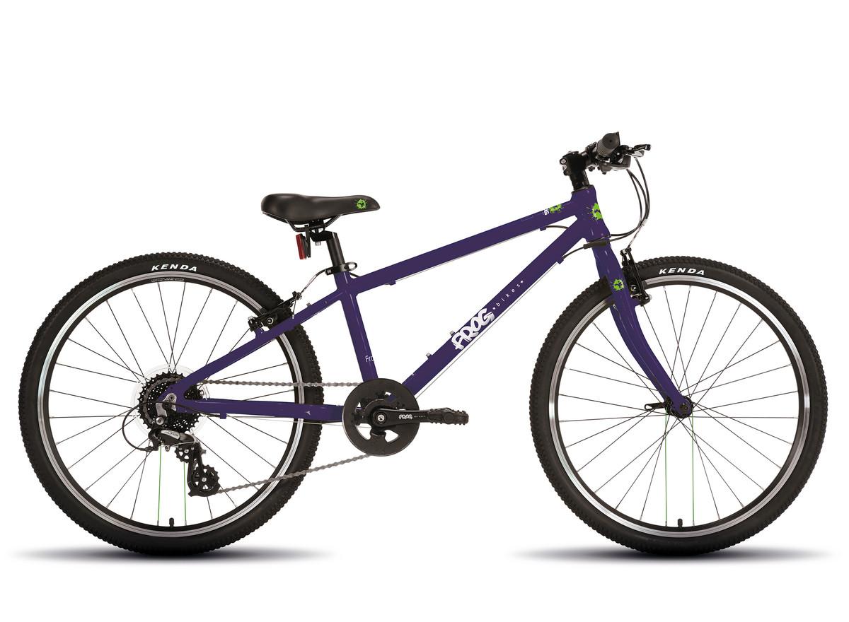 """Frog 69 24"""" jr. sykkel purple"""