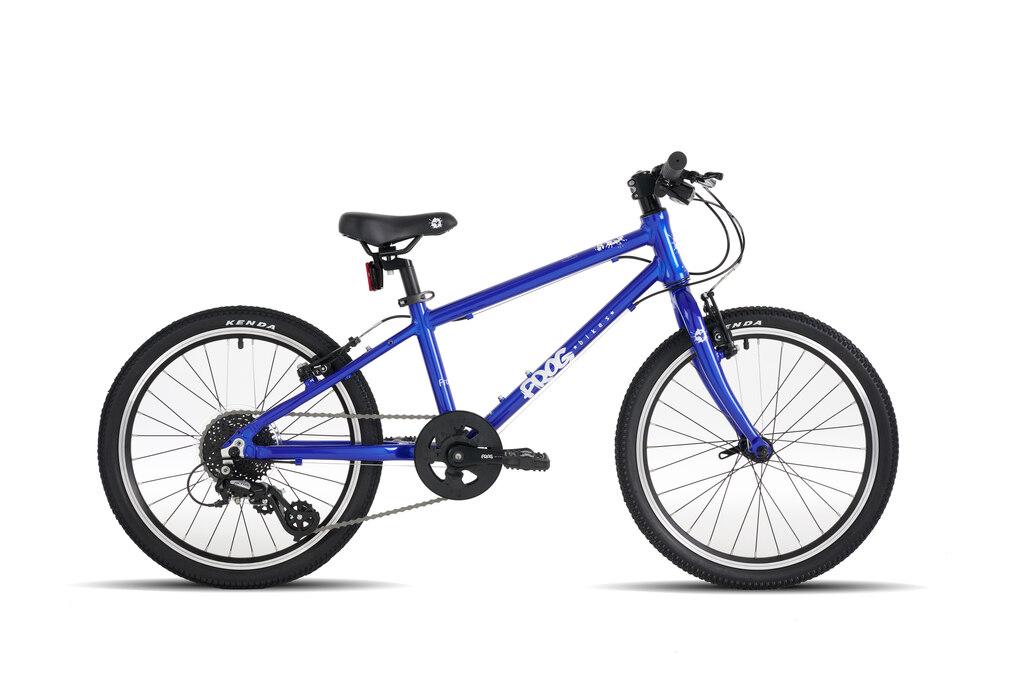 "Frog 55 20"" barnesykkel Electric blue"