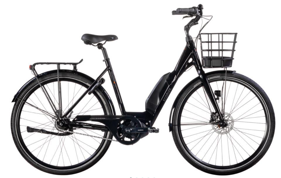 Ecoride Ambassador AXS M8 E5000 28 black