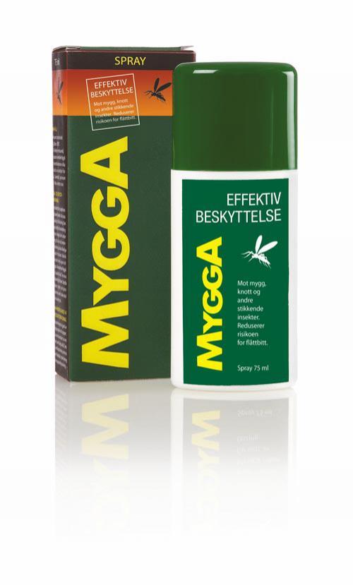 Mygga  Spray mot Mygg,Knott,Flåttbitt
