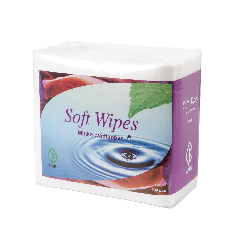 Vaskeservietter Papir, 200 stk