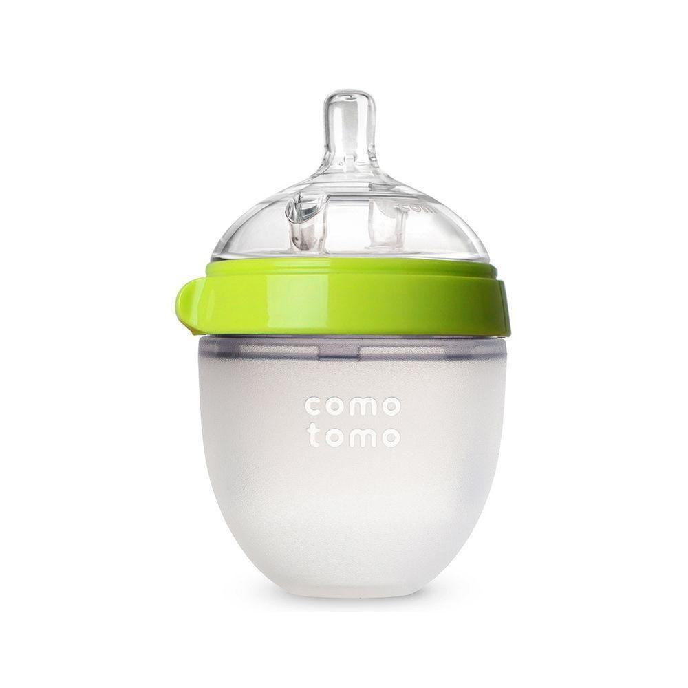 Comotomo Flaske Natural Feel Grønn 150ml