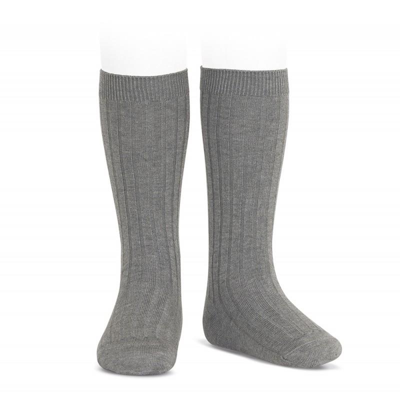 Condor knee-high sokker light grey