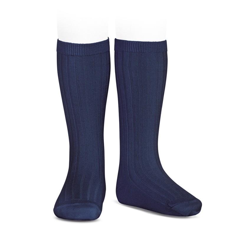 Condor knee-high sokker navy blue