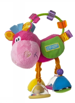 Playgro Activity Rattle Pink