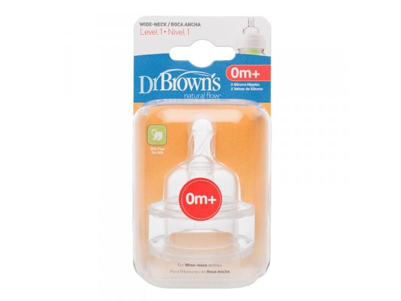 Dr Browns Flaskesmokk wideneck 0M+ STR 1