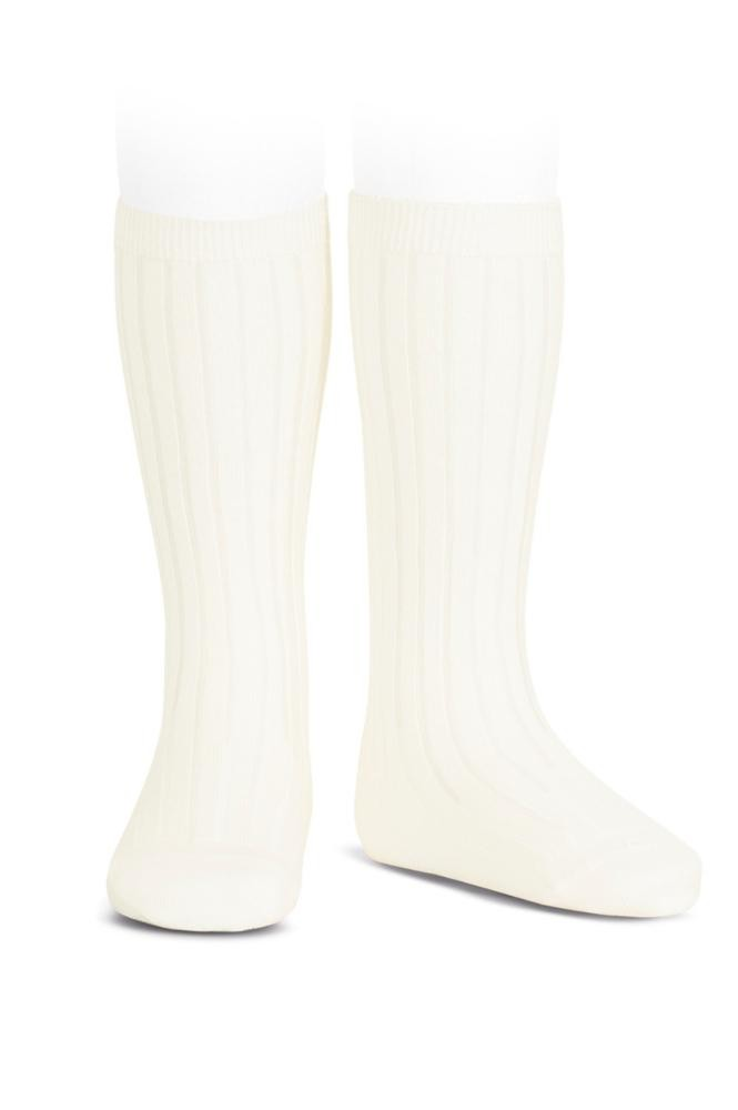 Condor knee-high sokker cream