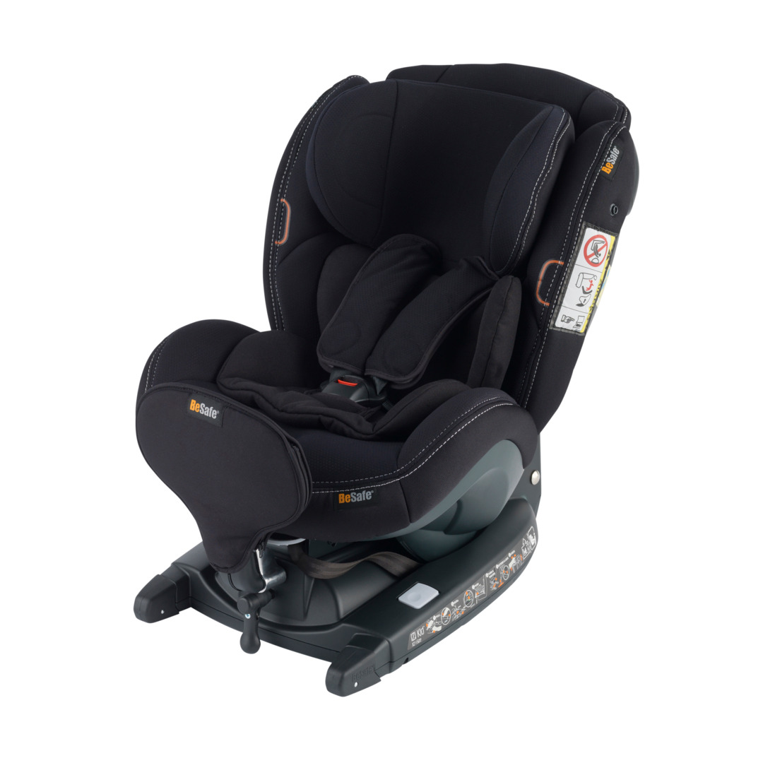 BeSafe iZi Kid X3 i-Size Premium Car Interior Black