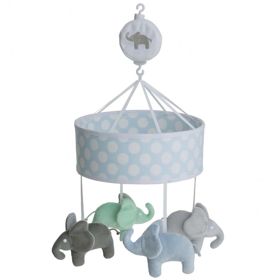 Ratt Start Uro Elefant Blå