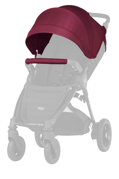 Britax B-MOTION 4 PLUS Kallesje WINE RED