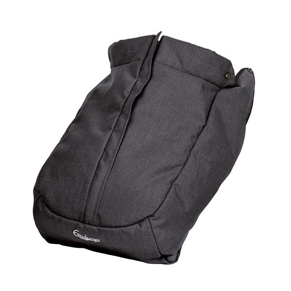 Emmaljunga Fottrekk NXT Seat FLAT Lounge Black
