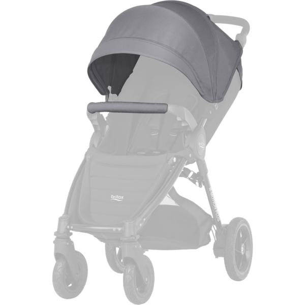 Britax B-MOTION 4 PLUS Kallesje STEEL GREY
