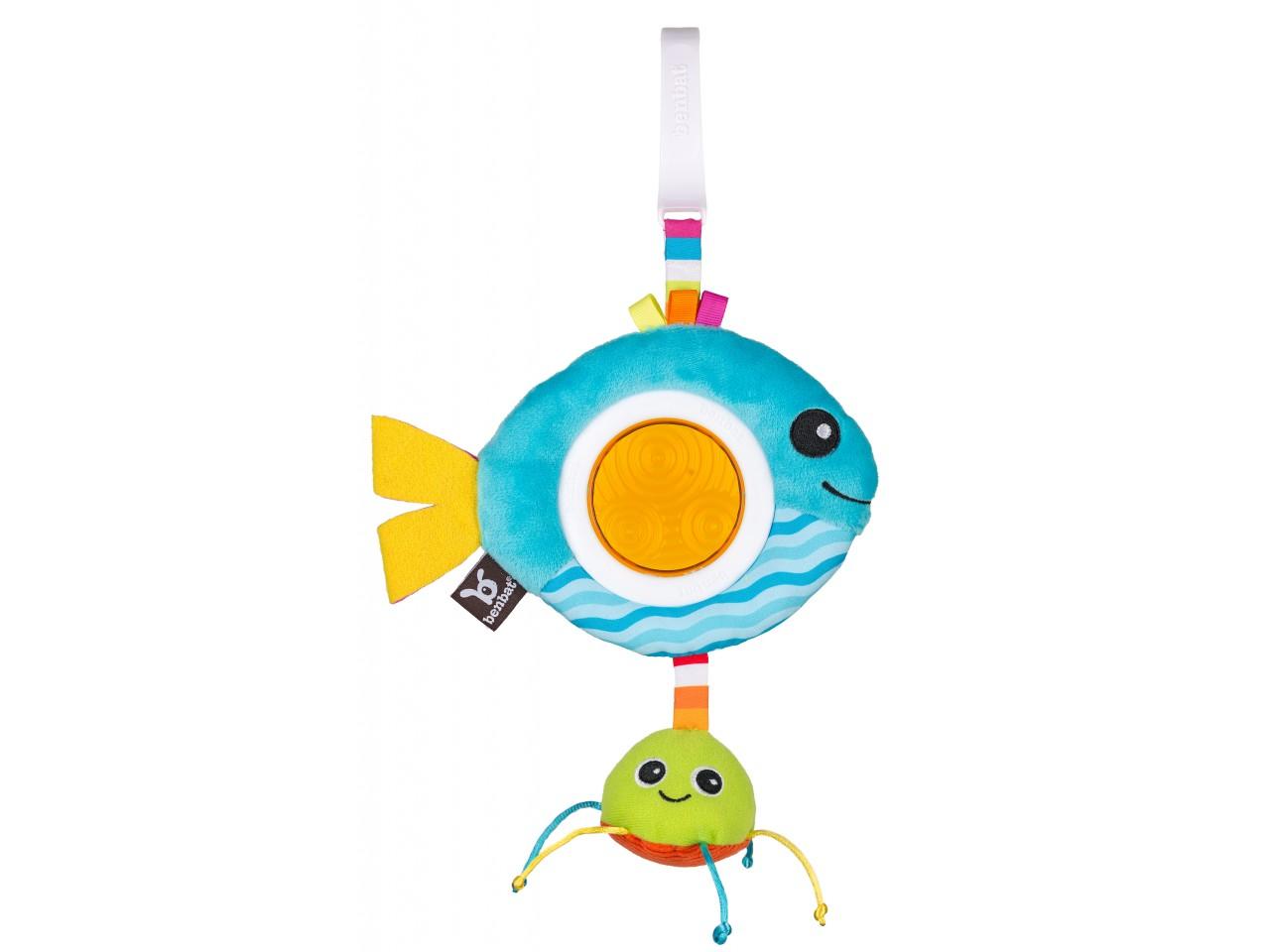 Benbat Dazzle Travel Toy Blue Fish