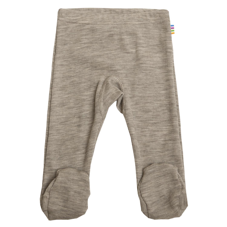 Joha Baby Wool/Silk Longs m/fot Beige