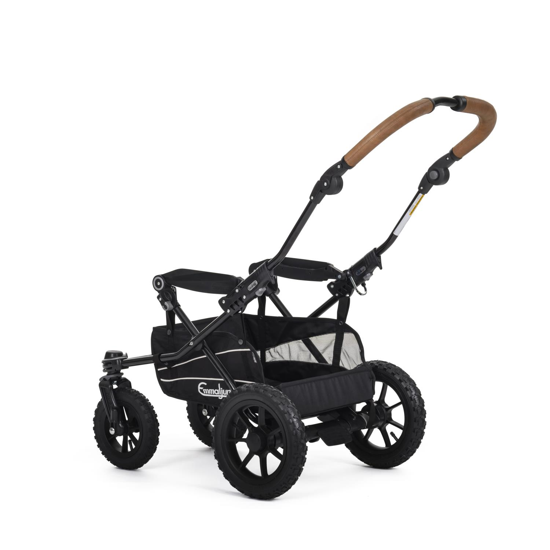 Emmaljunga Understell Duo S Black Outdoor AIR
