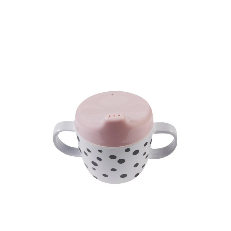 Tutkopp Happy dots Pink