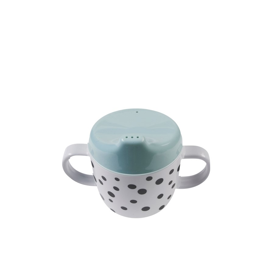 Tutkopp Happy dots Blue