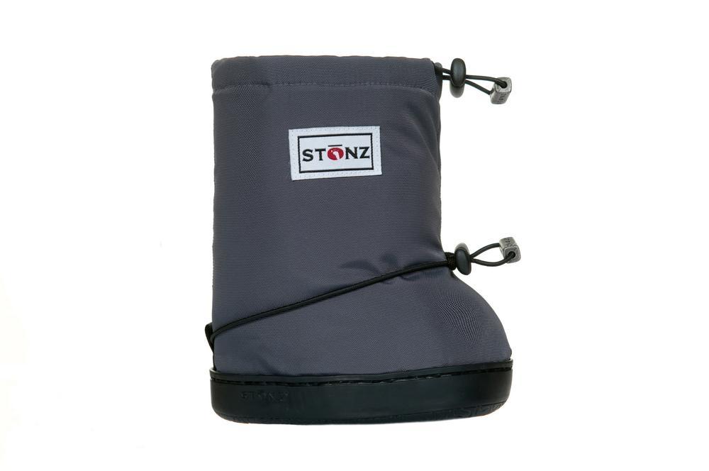 Stonz Booties L Grey 1-2,5 år