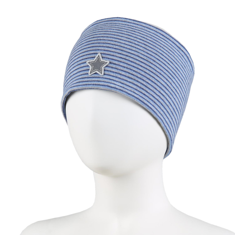 Kivat Pannebånd stripete blå med stjerne, 7+år