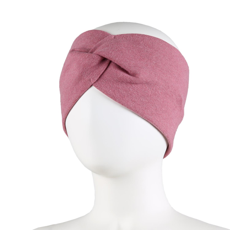 Kivat Pannebånd BOW, mørk rosa