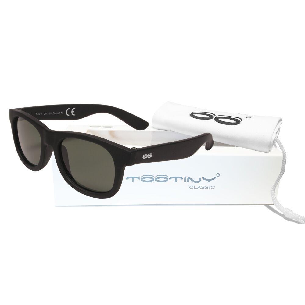 Tootiny solbriller Sort, størrelse 0-3 år