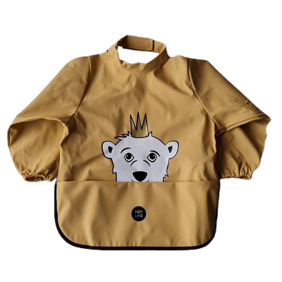 BabyLivia Langermet smekke, Isbjørnen Isak New Wheat