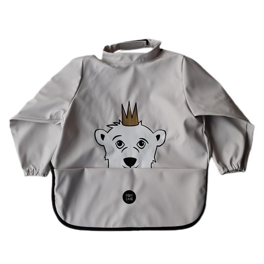 BabyLivia Langermet smekke, Isbjørnen Isak Rainy Day