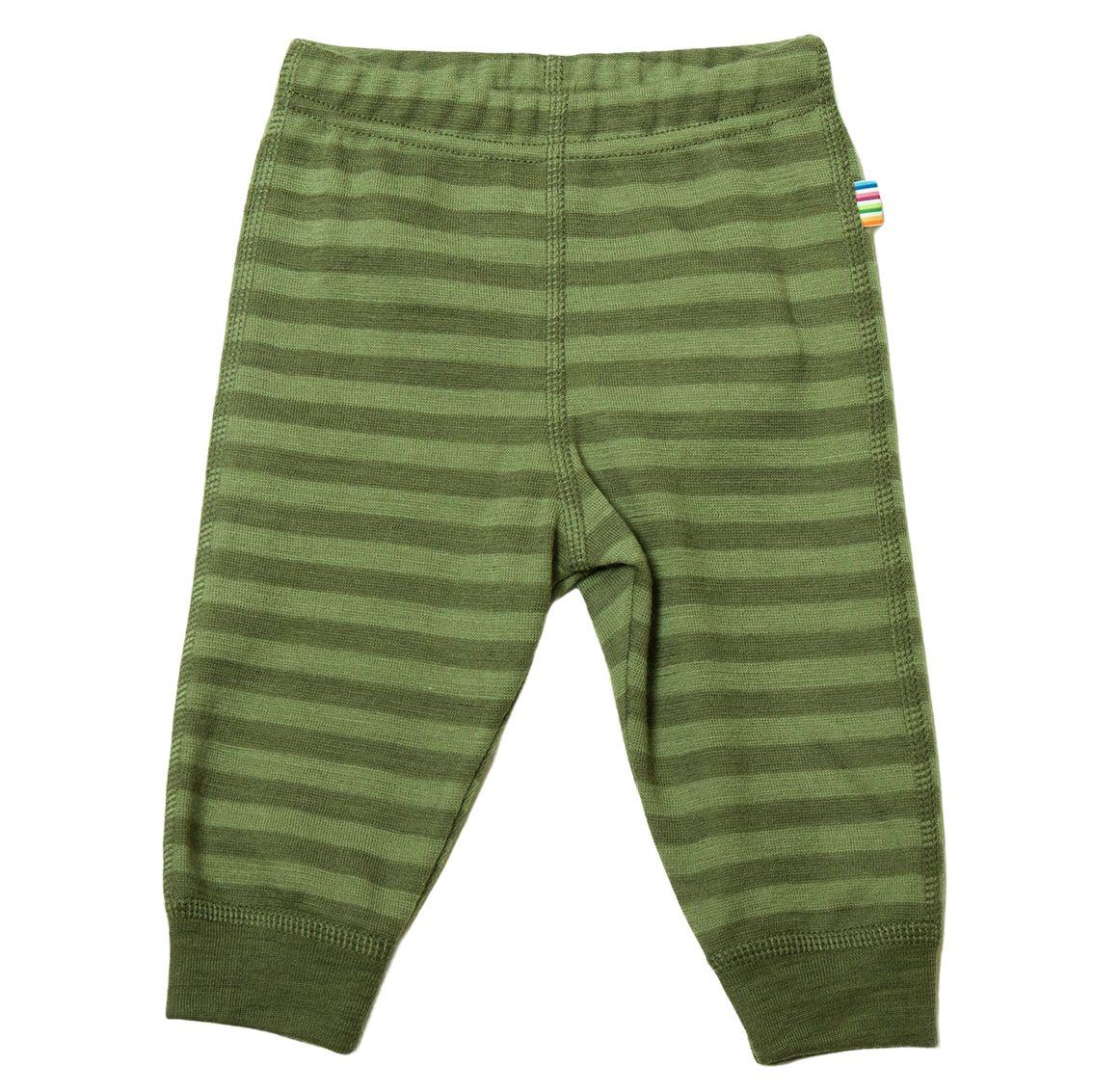 Joha Stripe Baby Ull Longs Grøn