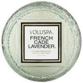 French Cade & Lavender Macaron Candle