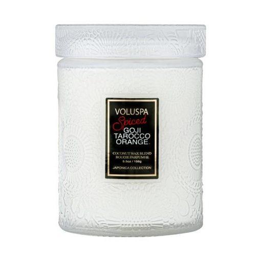 Mini Glass Jar Spiced Goji Tarocco Orange