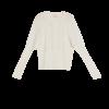 Mohair Puffed Sleeved Cardigan