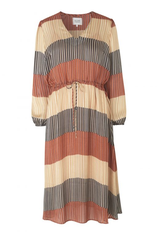 Board LS Midi Dress