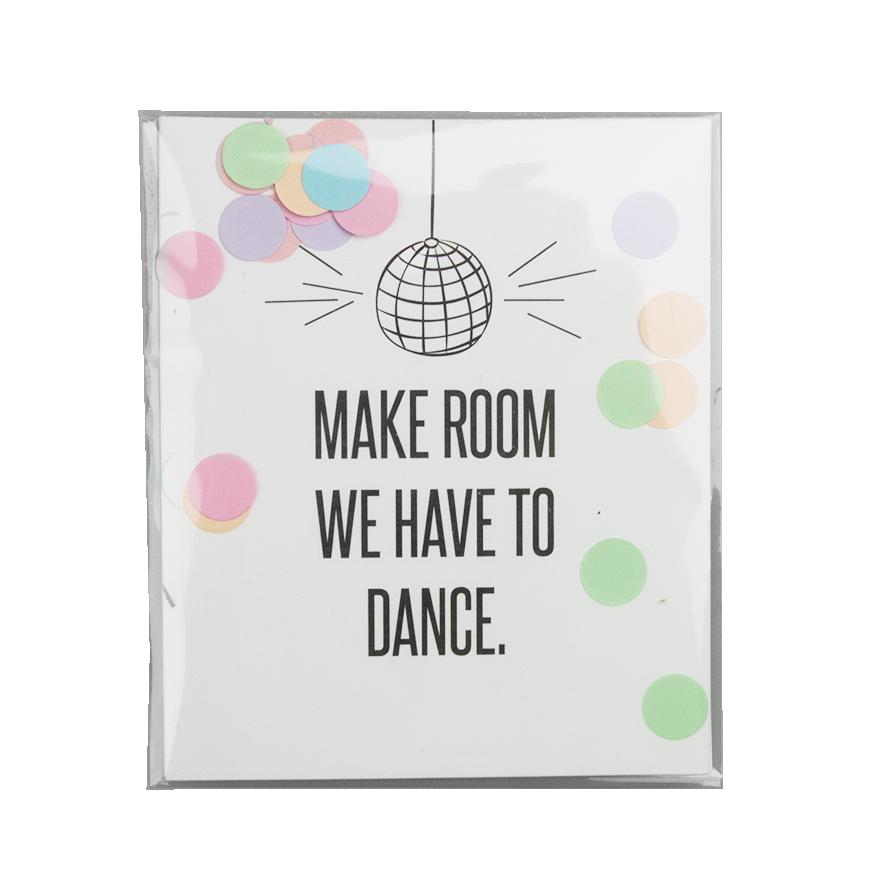 Make Room...