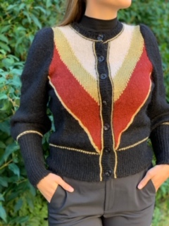 Golden Knit Jacket