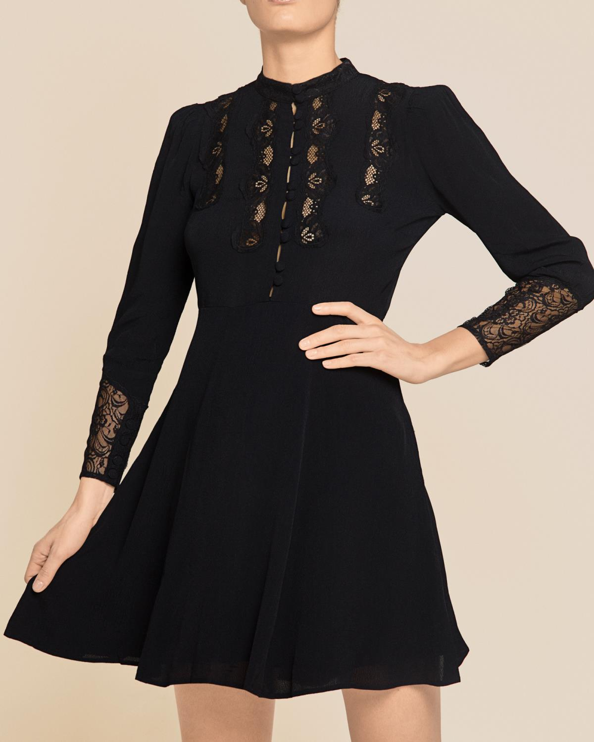 Elegant Lace Mini Dress