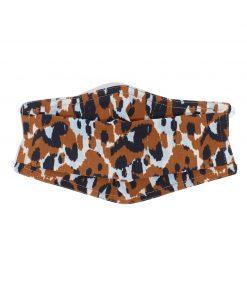 Leopard camo mask