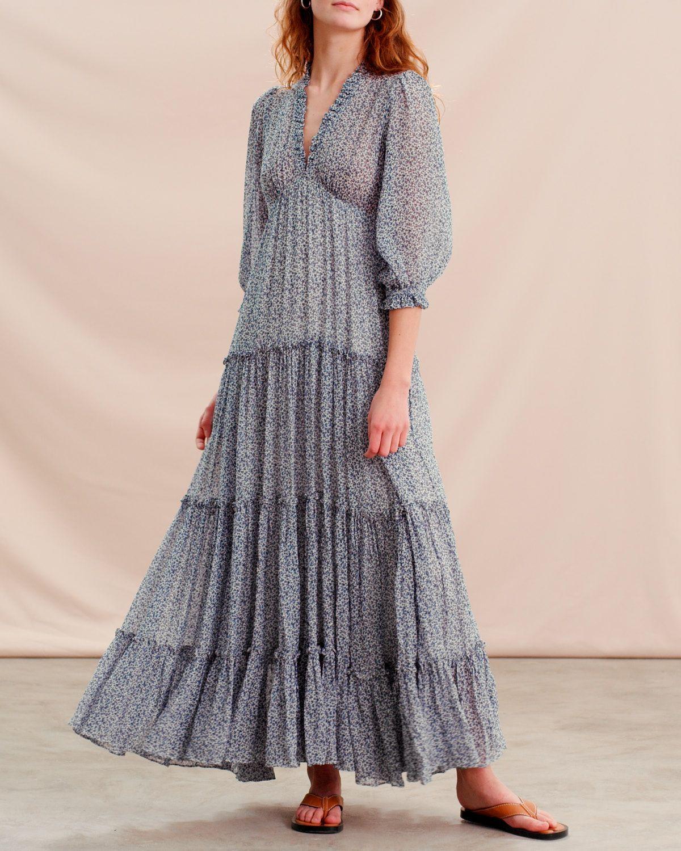 Delicate Semi Maxi Dress
