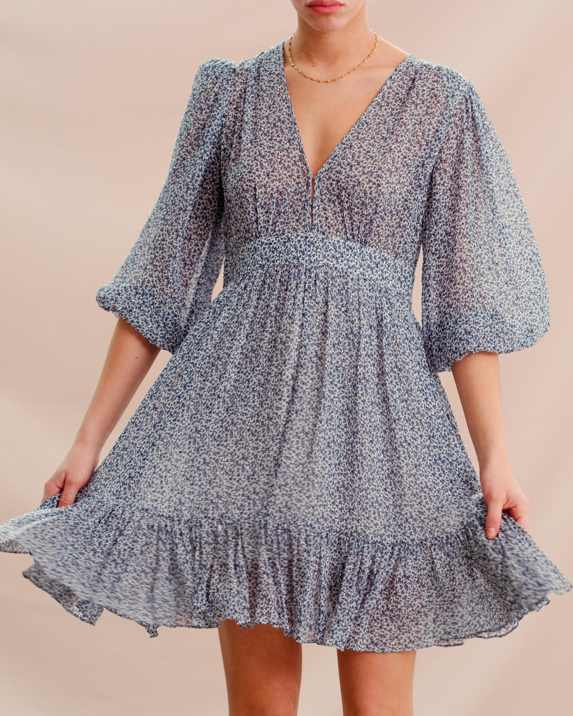 Delicate Semi Mini Dress