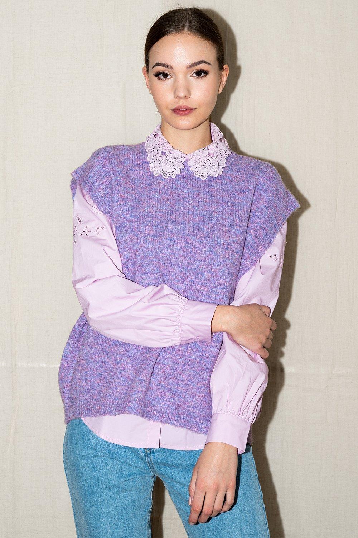 Frenchie Knit Vest