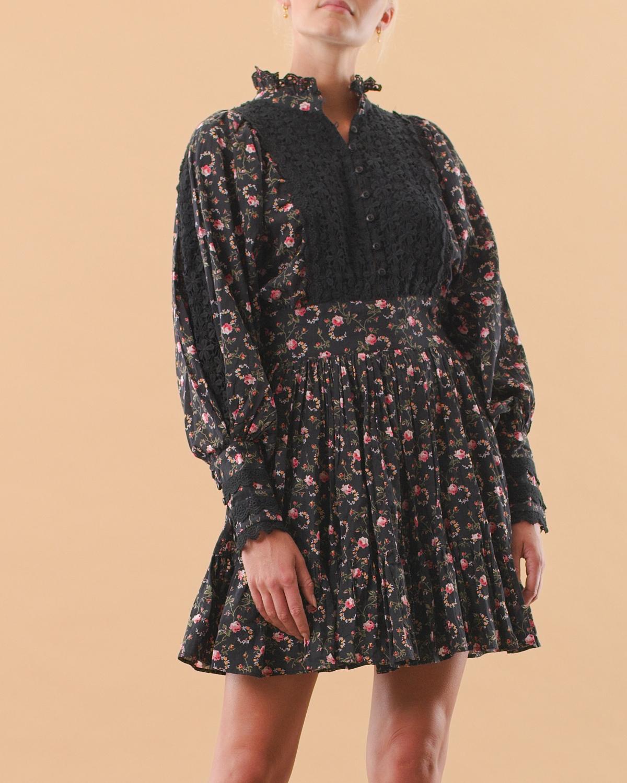 Cotton Slub Mini Dress